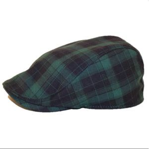 NWOT Plaid Scally Cap by Boston Scally Co.